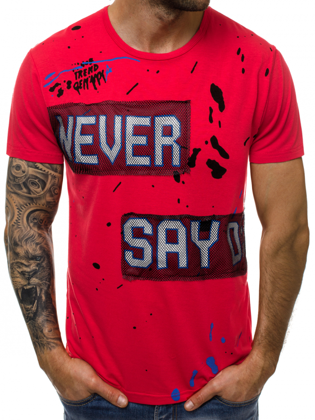 Мъжка тениска ''Noris'' - червена