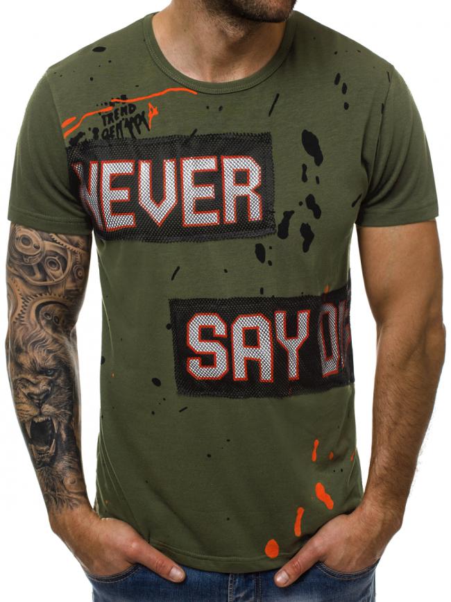 Мъжка тениска ''Noris'' - зелена