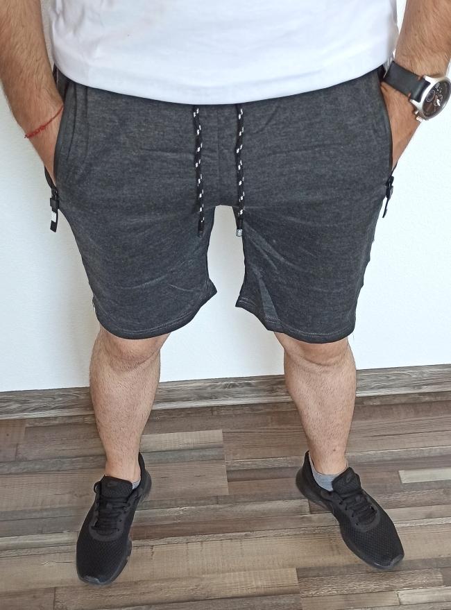Мъжки шорти ''Wolf'' - тъмно сиви