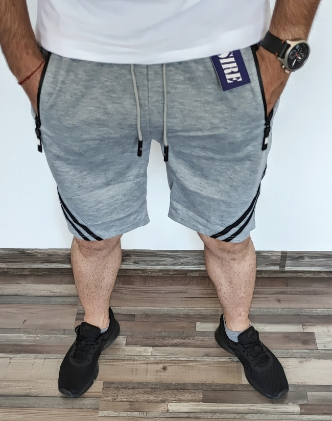 Мъжки шорти ''Gladiator'' - светло сиви