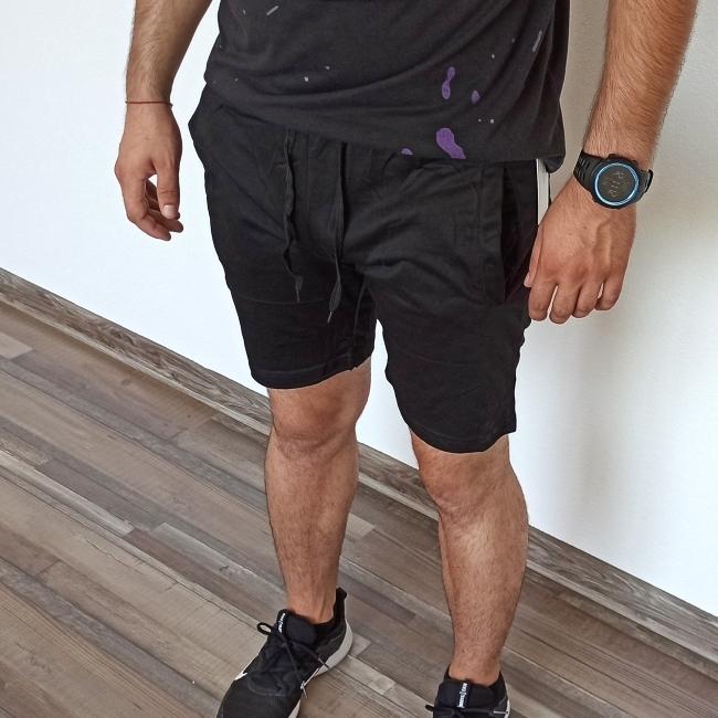 Мъжки шорти Strong - черни