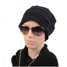 Мъжка зимна шапка черна