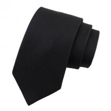 Мъжка черна класическа вратовръзка