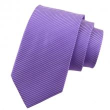 Мъжка лилава класическа вратовръзка