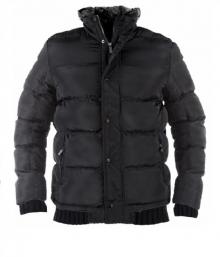НОВО Зимно шушляково яке със сваляща се качулка.