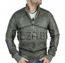 """Колекция кожени якета яке """"Рамос"""" еко-кожа - Графит"""