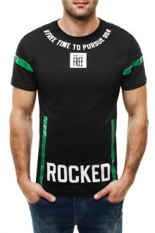 Тениска Rocked - черна