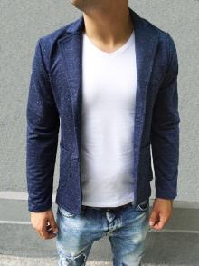 Спортно-елегантно сако тъмно синьо НОВ МОДЕЛ