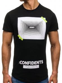 """Mъжка тениска """"Army"""" - черна"""