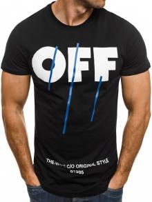 Черна мъжка тениска ''OFF''