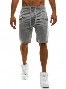 Мъжки шорти Jax - светло сиви