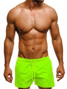 Мъжки шорти лято 2018 - електриково зелени