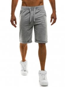 Мъжки шорти Czech - светло сиви