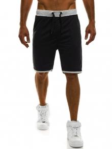 Мъжки шорти Poison - черни