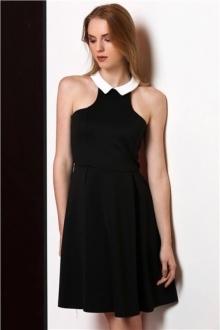 Дамска рокля Екстравагант НОВО Черна