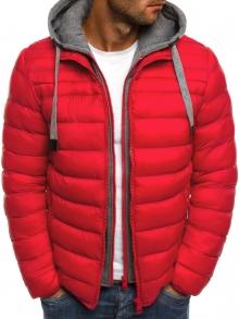 Мъжко шушлеково яке ''Елеганс'' - червено