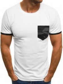 Мъжка тениска ''Pro'' - бяла