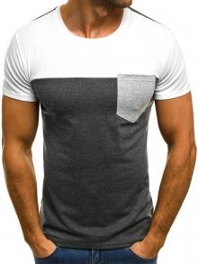 Мъжка тениска ''Destroy'' - сива