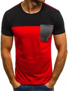 Мъжка тениска ''Destroy'' - червена