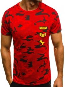 Мъжка тениска ''Force'' - червена