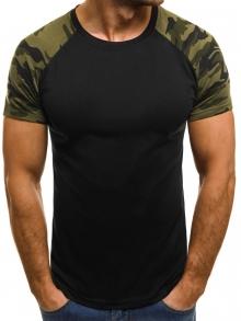 Мъжка тениска ''Summer'' - черна