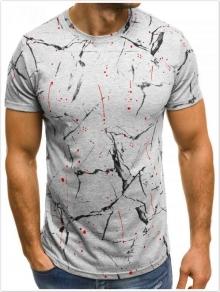 Мъжка тениска ''Dernier'' сива