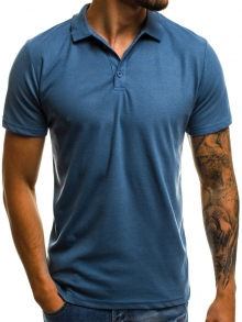 Мъжка тениска ''Polo'' - тъмно синя