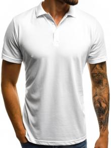 Мъжка тениска ''Polo'' - бяла