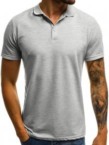 Мъжка тениска ''Polo'' - сива