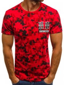 Мъжка тениска ''Fire'' - червена