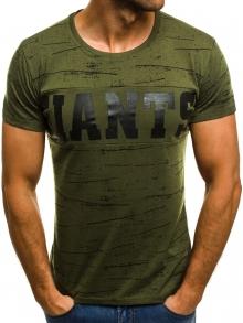 Мъжка тениска ''GIANTS'' - зелена
