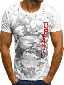 Мъжка тениска ''Art'' - бяла