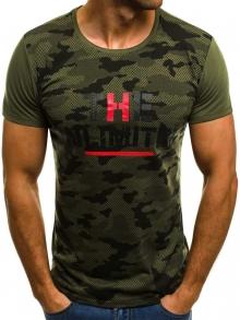 Мъжка тениска ''LIMITED'' - зелена