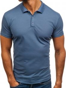 Мъжка тениска ''Polo'' - светло синя