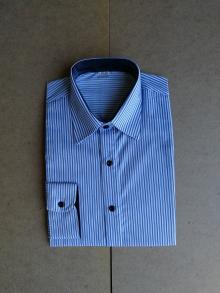 Мъжка риза с дълъг ръкав шарени карета
