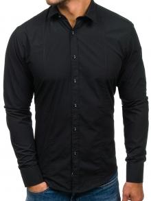 Нов модел мъжка риза Черна 2019
