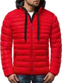 Мъжко яке ''Лоренцо'' - червено