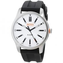 Мъжки Кварцов Ръчен Часовник Hugo Boss Orange С Кожена Каишка