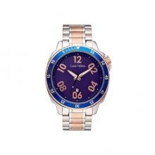 Луксозен Мъжки Часовник С Каишка От Нераждаема Стомана Louis Villiers