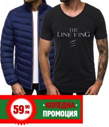 Коледен комплект - горнище + тениска