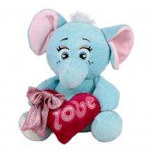 Слонче със сърце - 30см