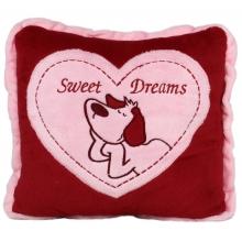 Възглавничка Sweet Dreams - Червена - 39см