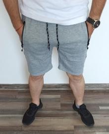 Мъжки шорти ''Wolf'' - светло сиви