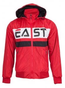 Мъжко двулицево яке - Червено