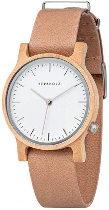 Мъжки часовник от естествено дърво KERBHOLZ