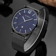 CURREN Модерен ежедневен кварцов часовник за мъже